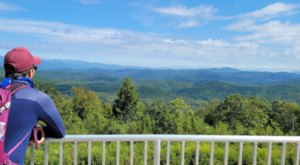 South Carolina's Sassafras Mountain Tower Is One Of The Best Hiking Summits For Viewing Multiple States