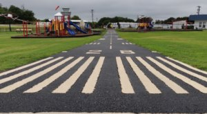 Kids Can Spend The Day Playing Around At A Free Outdoor Playground And Airport Runway In South Carolina