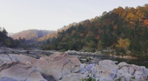 Pack Up And Enjoy The Breathtaking River Corridor Trail In Arkansas This Fall