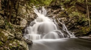 Wahconah Falls Trail Is A .9-Mile Hike In Massachusetts That Leads You To A Pristine Waterfall
