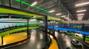 Zoom Around A Three-Story Go-Kart Track At Andretti Indoor Karting & Games In Texas