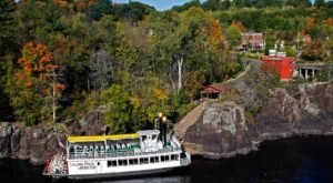 Hop Aboard An Old-Fashioned River Boat To Take A Tour Of Minnesota's Fall Colors This Year