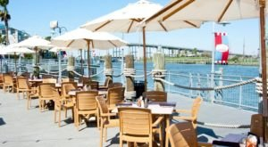 Flying Dutchman In Kemah, Texas Offers Open-Air Dining On The Bay