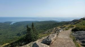 You'll Feel Like You're On Top Of The World When You Reach The End Of The Cadillac Summit Loop Trail In Maine