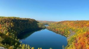 Spectacular Views Of Two Secret Lakes Hidden By A Forest Await Those Who Hike Bean and Bear Lake Loop In Minnesota