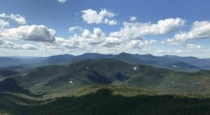 You'll Feel Like You're On Top Of The World When You Reach The End Of Champney Brook Trail In New Hampshire