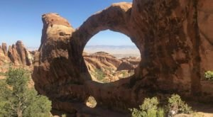 You'll See Two Arches At Once On The Double O Arch Trail In Utah