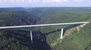 The Highest Interstate Bridge In The Whole Country Is Right Here In West Virginia