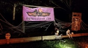 You Can Drive Through The Terrifying Haunted Drive Halloween Experience In Texas This Year