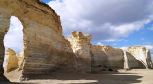Monument Rocks Is An Inexpensive Road Trip Destination In Kansas That's Affordable