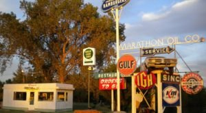 Explore Vintage Signs And Classic Automobiles At Muscle Car Ranch In Oklahoma