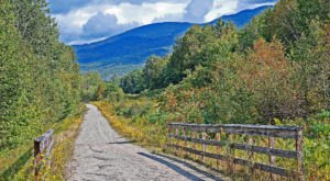 Follow An Old Abandoned Railroad To Incredible Views On This Enchanting New Hampshire Trail