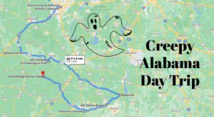 This Creepy Day Trip Through The Spookiest Places In Alabama Is Perfect For Fall