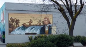 Take A Stroll Through The Dalles In Oregon To See Vibrant Murals Of The Town's History