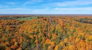 There's No Better Place To Take In The Seasonal Hues Than Timm's Hill, The Highest Point In Wisconsin