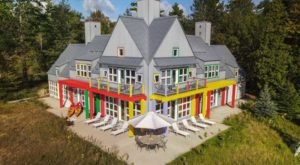 Wisconsin's Iconic Crayola House Could Be Yours For $1,175,000