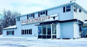 Satisfy Your Inner Carnivore With A Giant 40-Ounce Burger From Haase's Supper Club In Wisconsin