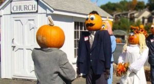 You Can Drive Through The Festive Pumpkintown USA Halloween Experience In Connecticut This Year