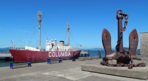 The U.S. Lightship Columbia In Oregon Once Guided Ships Through The Graveyard Of The Pacific