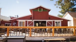 This Old-Fashioned Red Barn In Southern California, Julian Beer Co., Has The Best BBQ And Brews On The Planet