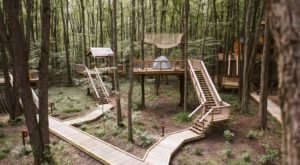 There's A Treehouse Village In Ohio Where You Can Spend The Night