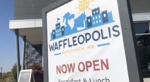 Waffles Are Way More Than Breakfast At Waffleopolis, A Funky Restaurant In Nebraska