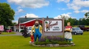 The Oldest Of Its Kind In Door County, Koepsel's Farm Market Is A Wisconsin Landmark