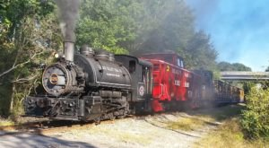 The Spooktacular Halloween Train Ride From St. Mary's Express In Georgia Is Back