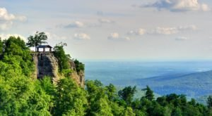 Off The Beaten Path In White Rock Mountain Recreation Area, You'll Find A Breathtaking Arkansas Overlook That Lets You See For Miles
