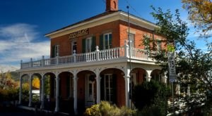 This Beautiful Historic Mansion Also Happens To Be One Of The Most Haunted Spots In Nevada