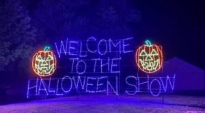 The Halloween Lights Drive-Thru Event In Pennsylvania That's Spooky Fun For The Whole Family