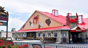 You'll Be Transported Out To Sea Dining At Pirate's Table In South Carolina