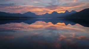 The Sunrises At Lake McDonald In Montana Are Worth Waking Up Early For