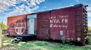 Become A Stowaway For A Night In A Santa Fe Boxcar In Kansas