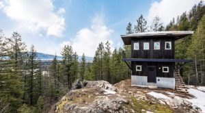 Perched Atop A Cliff, The Views From This Fire Lookout Airbnb In Idaho Will Fill You With Pure Awe