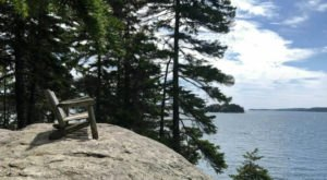 Off The Beaten Path In Porter Preserve, You'll Find A Breathtaking Maine Overlook That Lets You See For Miles