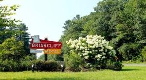 Embark On A Modern Adventure When You Check Into The Retro Briarcliff Motel In Massachusetts