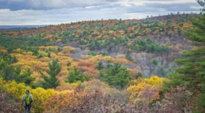 There's No Better Place To View Fall Foliage In Massachusetts Than The Massive Blue Hills Reservation