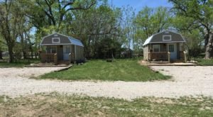 Sleep The Night Away In A Miniature Cabin At Rocky Pond Cabins In Kansas