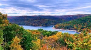 Hike The Rimrock Overlook Trail In Pennsylvania For Sensational Views Of Allegheny Reservoir