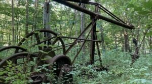 The Spooky Hike Near Pittsburgh That Will Lead You Somewhere Deserted