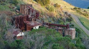 The Trails In Almaden Quicksilver County Park Will Take You Past Relics From Northern California's Mining Era