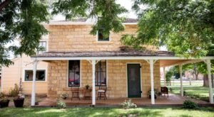 Surround Yourself With History As You Sleep In A 1893 Limestone Home In Kansas