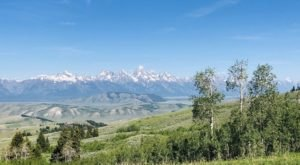 Off The Beaten Path In Gros Ventre Wilderness, You'll Find A Breathtaking Wyoming Overlook That Lets You See For Miles