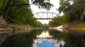 A Perfect Way To Celebrate Fall In Florida Is To Paddle & Camp Along The Suwannee River