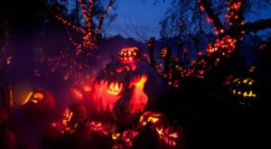 The Halloween Lights Drive-Thru Event In Rhode Island That's Spooky Fun For The Whole Family