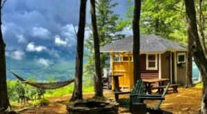 Sneak Away To An Autumn Retreat With Incredible Berkshire Views When You Visit This Cabin In Massachusetts