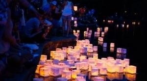 You Can Walk Through The Mesmerizing Water Lantern Festival In Florida Next Year