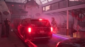 Get Spooked While Driving Through The Tunnel Of Terror, A Haunted Car Wash In Michigan