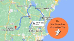 This Creepy Day Trip Through The Spookiest Places In New Hampshire Is Perfect For Fall